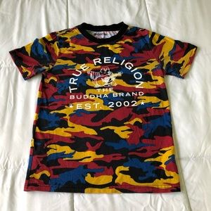 TRUE RELIGION CAMO ALL OVER TEE